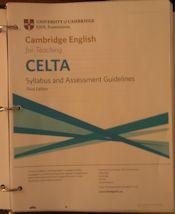 CELTA-syllabus
