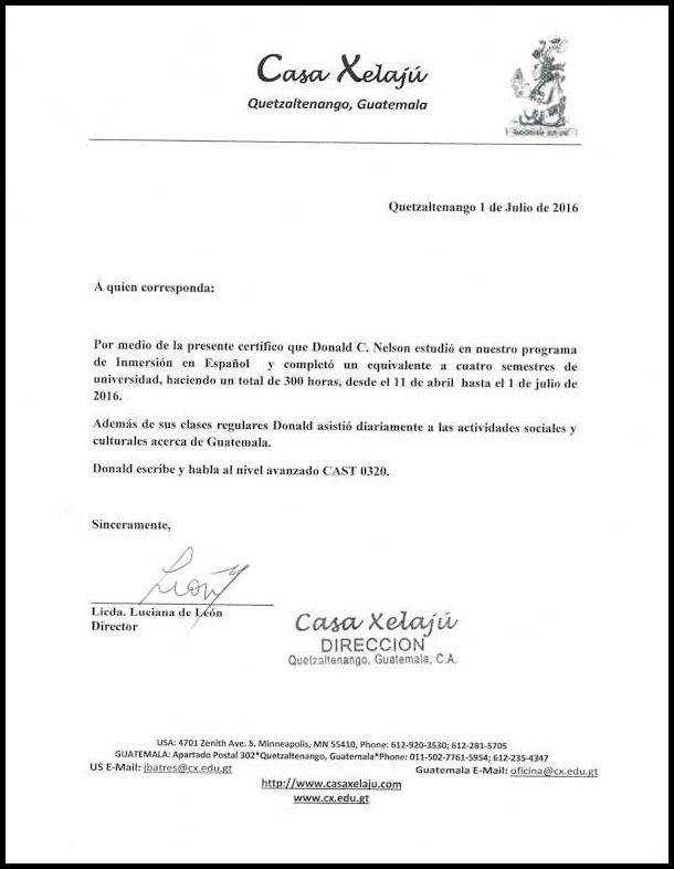 Casa Xelaju-Letter-Don-sm